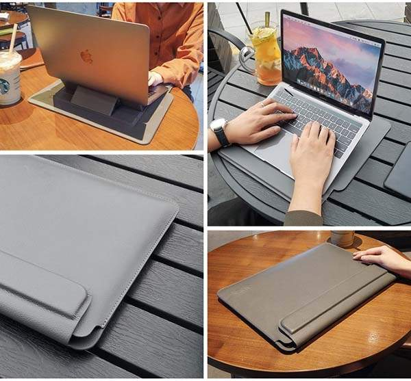 Sinex 3-In-1 Multi-Functional Laptop Stand Sleeve
