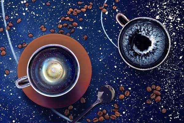 Tenmo Tenmoku Porcelain Coffee Cup