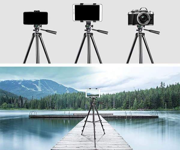 UBeesize Travel Tripod for Smartphones, Tablets and Cameras