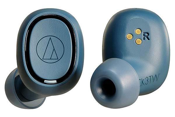 Audio-Technica ATH-CK3TWBL True Wireless In-Ear Headphones