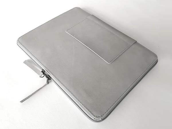 Handmade 10.2-Inch iPad Leather Case with Apple Pencil Holder and Card Pocket