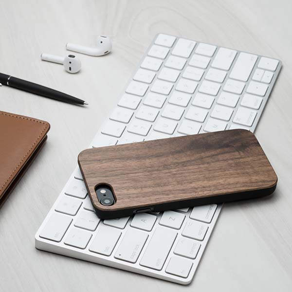 Handmade Personalized Wooden iPhone Case for iPhone 11, X and More