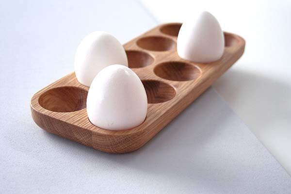 Handmade Wooden Egg Holder