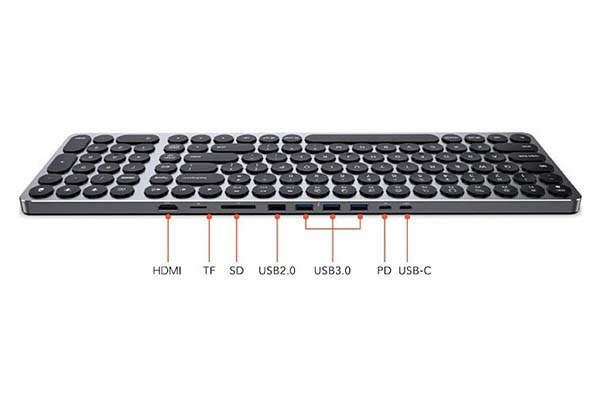 Kolude KD-K1 Keyhub Aluminum Keyboard with USB-C Hub