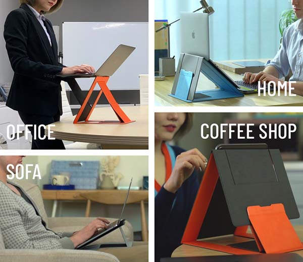 MOFT Z Invisible Sit-stand Laptop Desk