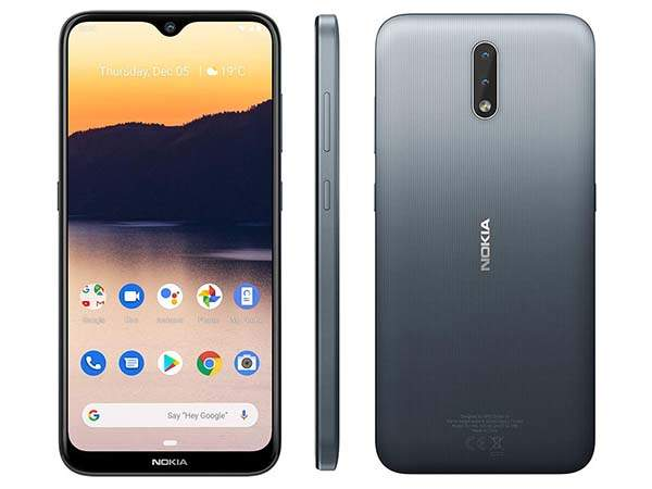 Nokia 2.3 Smartphone with AI-Powered Dual Camera