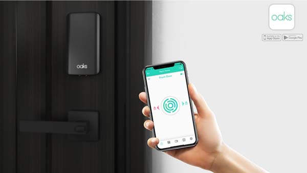 Oaks Bluetooth Smart Lock for Homeowners and Vacation Rental Owners