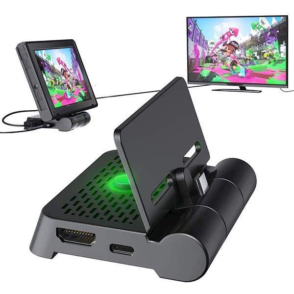 Oivo Foldable Nintendo Switch Docking Station