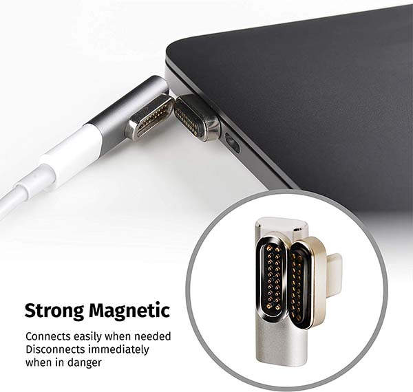 OneMore Magnetic USB-C Adapter for MacBook