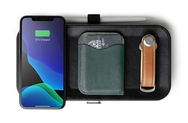 Orbitkey Nest Customizable Portable Accessory Organizer with Wireless Charger