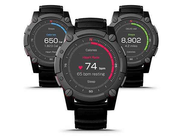 PowerWatch 2 Body Heat Powered Smartwatch with Fitness Tracker