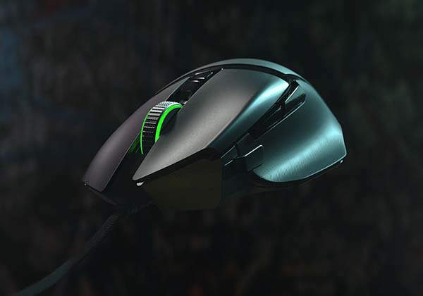 Razer Basilisk v2 Wired Gaming Mouse with 11 Programmable Buttons