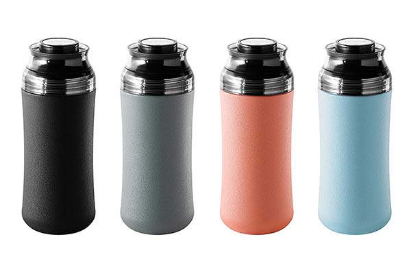 That! Inventions TMM-12G Ministor Travel Tumbler with Storage Cap