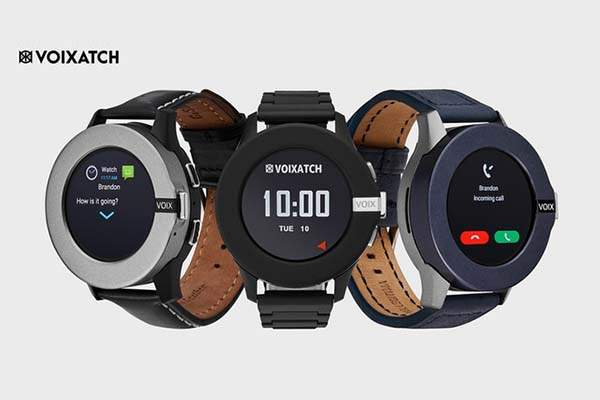 Voixatch LTE Smartwatch with LTE and Detachable Functional Bezel