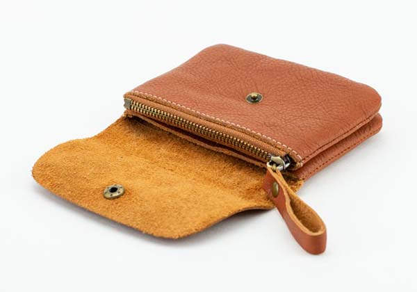 Zakkr Handmade Leather Slim Wallet