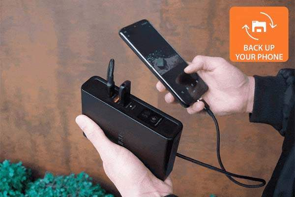 ZIRUX Charger X Portable Power Bank with 100W PD, File Transfer and Interchangeable Plugs
