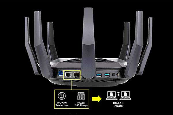 ASUS RT-AX89X AX6000 Dual Band WiFi 6 Router