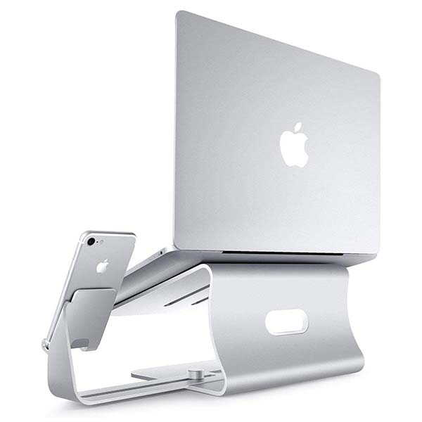 Bestand Aluminum Laptop Stand with Phone Holder