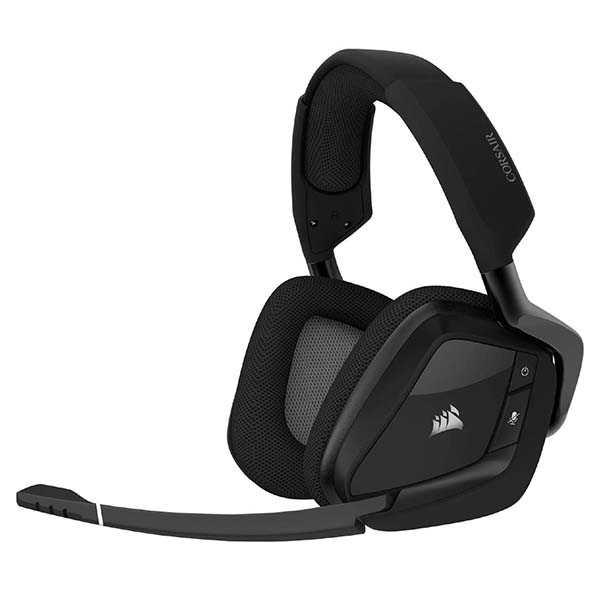 Corsair Void RGB Elite Wireless Gaming Headset with 7.1 Surround Sound