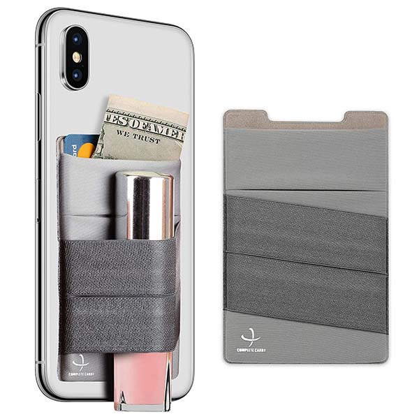 FreBeau Stretchy Phone Card Holder with RFID and Elastic Strap