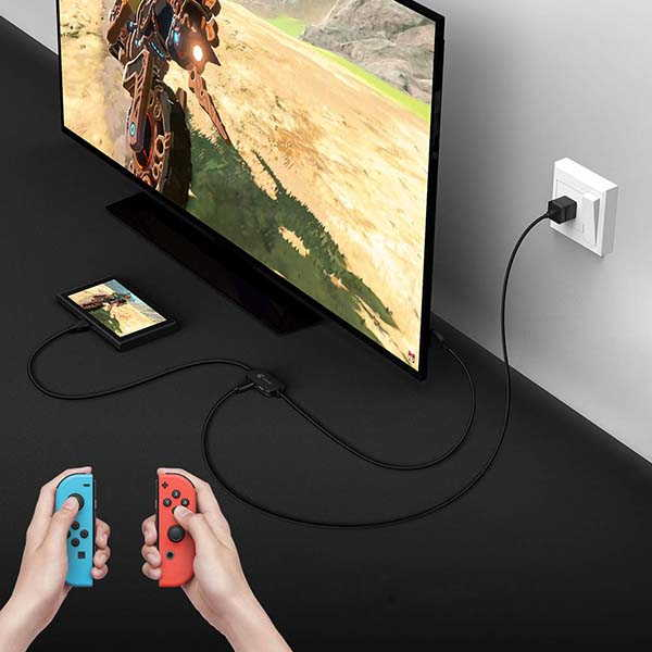 GameSir GTV120 USB-C to HDMI Cable for Nintendo Switch and More Devices