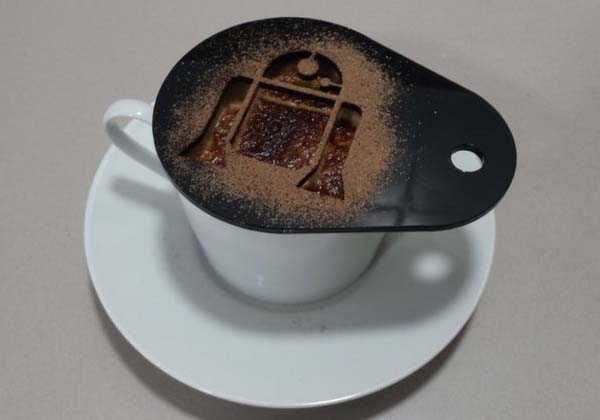 11 Handmade Coffee Stencils Bring You Star Wars Coffee