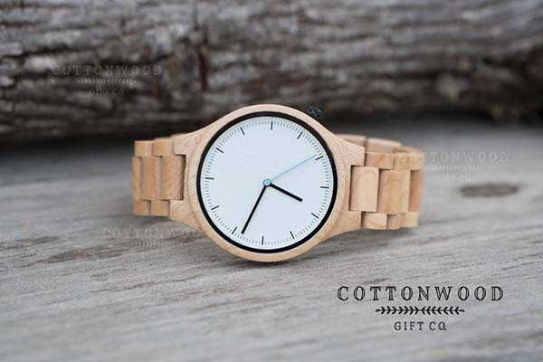 Handmade Personalized Wooden Watch for Men