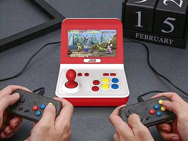 JXD Retro Mini Arcade Console with 9000 Video Games