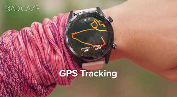 MAD Gaze GPS Smartwatch with 33 Gesture Controls