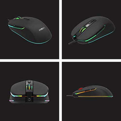 Phlips G414 RGB Wired Gaming Mouse with 7 Programable Buttons
