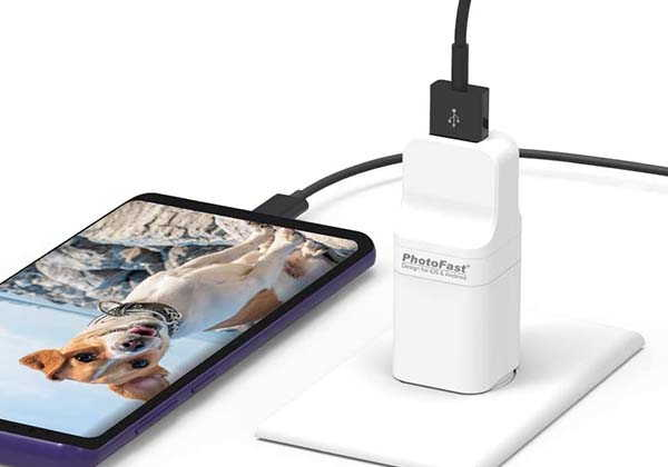 PhotoFast PhotoCube Pro External Storage Device for iOS and Android