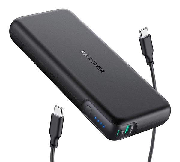 RAVPower 60W PD Portable Power Bank