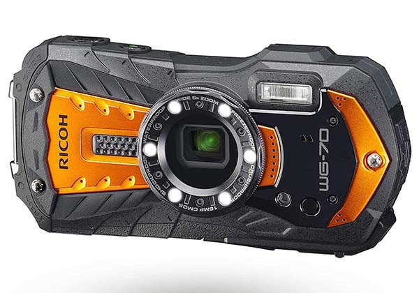 Ricoh WG-70 Compact Waterproof Camera with 16MP Sensor
