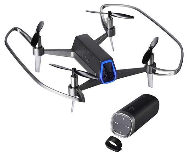 Shift Red Mini Camera Drone with One-Handed Controller