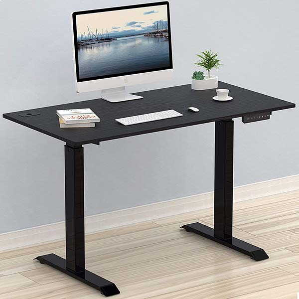 SHW OD-009 Electric Sit Stand Desk with 4 Memory Preset Options