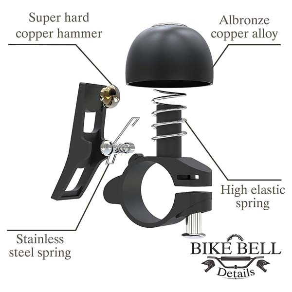 Sportout Anti-Rust Copper Alloy Bicycle Bell