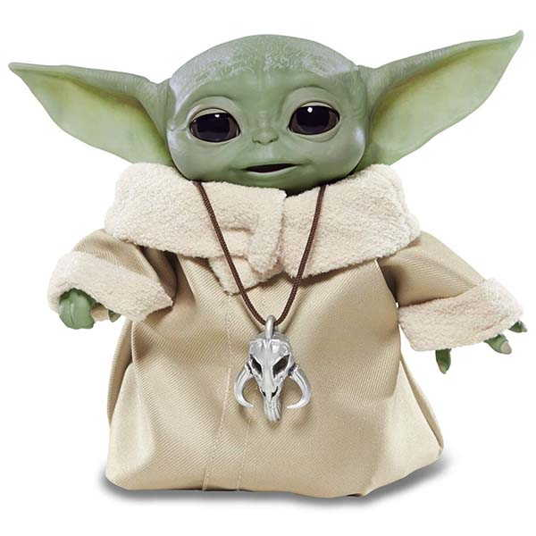 Star Wars Animatronic Baby Yoda with Over 25 Sound and Motion Combinations
