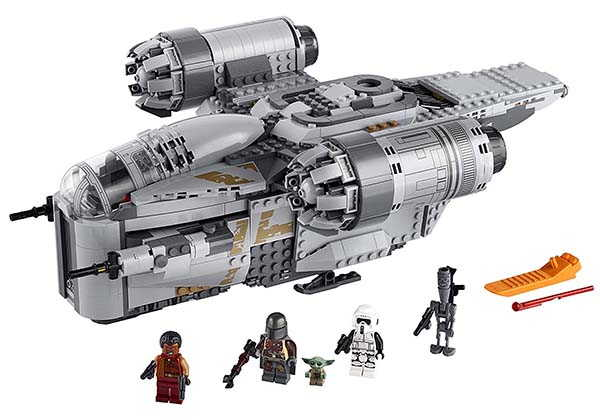 The LEGO Star Wars Building Kit Brings Mandalorian Razor Crest into Your Room