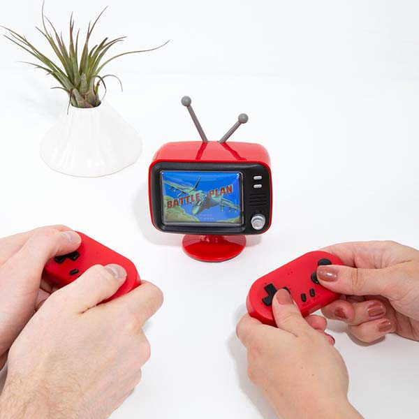 The Mini Retro TV Game Console with 300 8-Bit Games