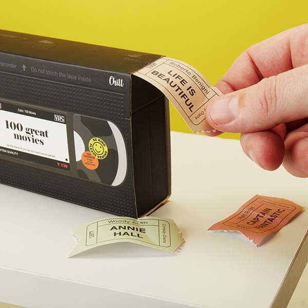 The Retro Videotape Provides 100 Movie Suggestions