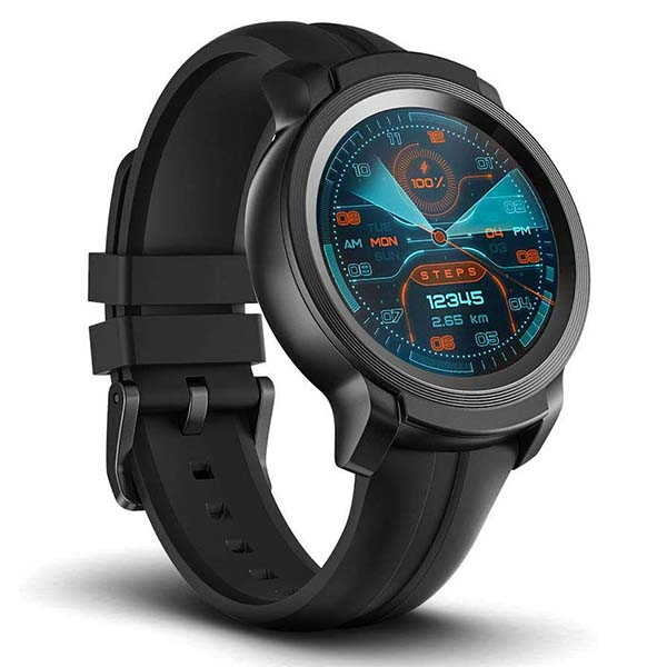 TicWatch E2 Waterproof GPS Smartwatch with Heart Rate Monitor