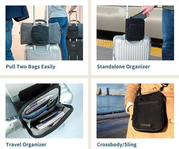 Travel Bag Buddy RFID Shielded Sling Bag