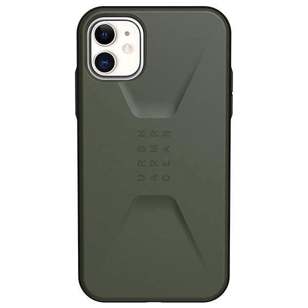 Urban Armor Gear Civilian Feather-Light iPhone 11 Case for 11/11 Pro/Max