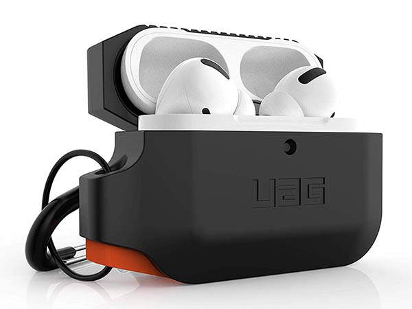 Urban Armor Gear Rugged AirPods Pro Case with Detachable Carabiner