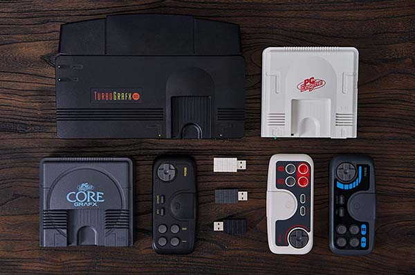 8Bitdo 2.4G Wireless Gamepad Inspired by Retro NEC Game Consoles