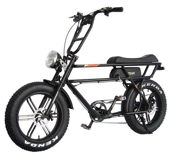 Addmotor Moran M-70 Electric Bike with 20-Inch Fat Tires