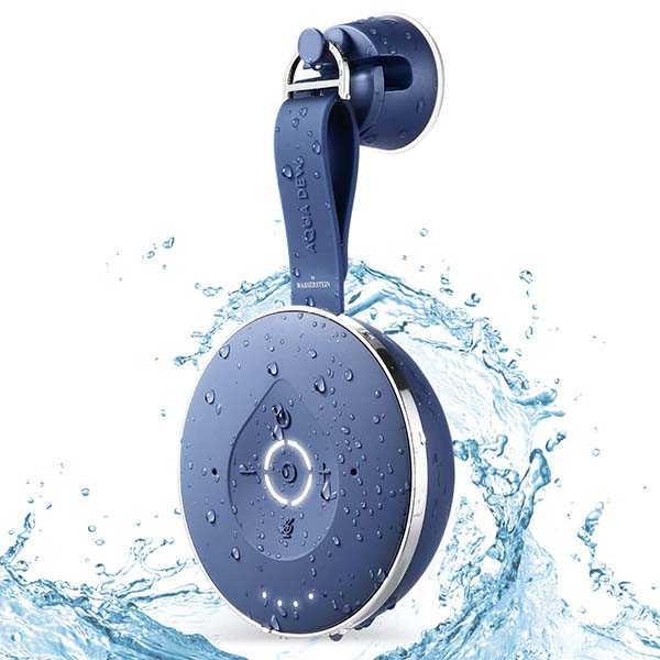 Aqua Dew Alexa Shower Speaker with WiFi and Bluetooth