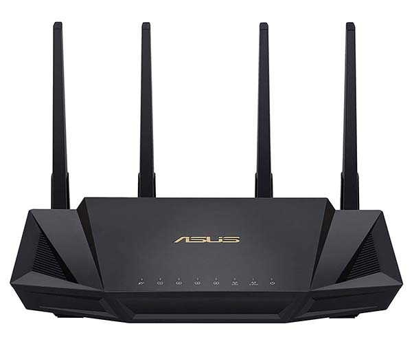 ASUS RT-AX3000 Dual Band WiFi 6 Router with VPN Support