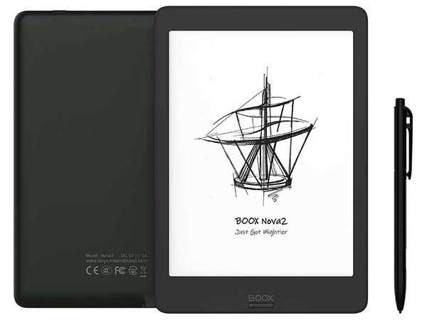 BOOX Nova2 e-Ink Tablet with USB-C OTG