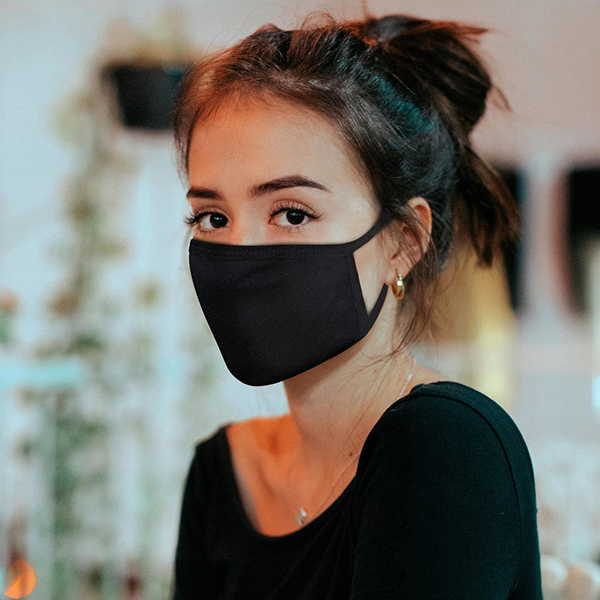 Handmade Double Layered Fabric Face Mask